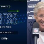 Head Coach Pete Carroll Week 3 Friday Press Conference | 2019 Seattle Seahawks
