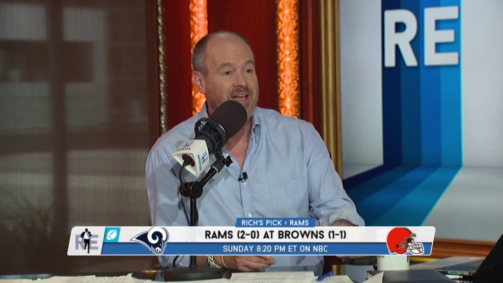 Rich Eisen's Week 3 NFL Picks: Rams-Browns, Saints-Seahawks, Giants-Buccaneers | 9/20/19
