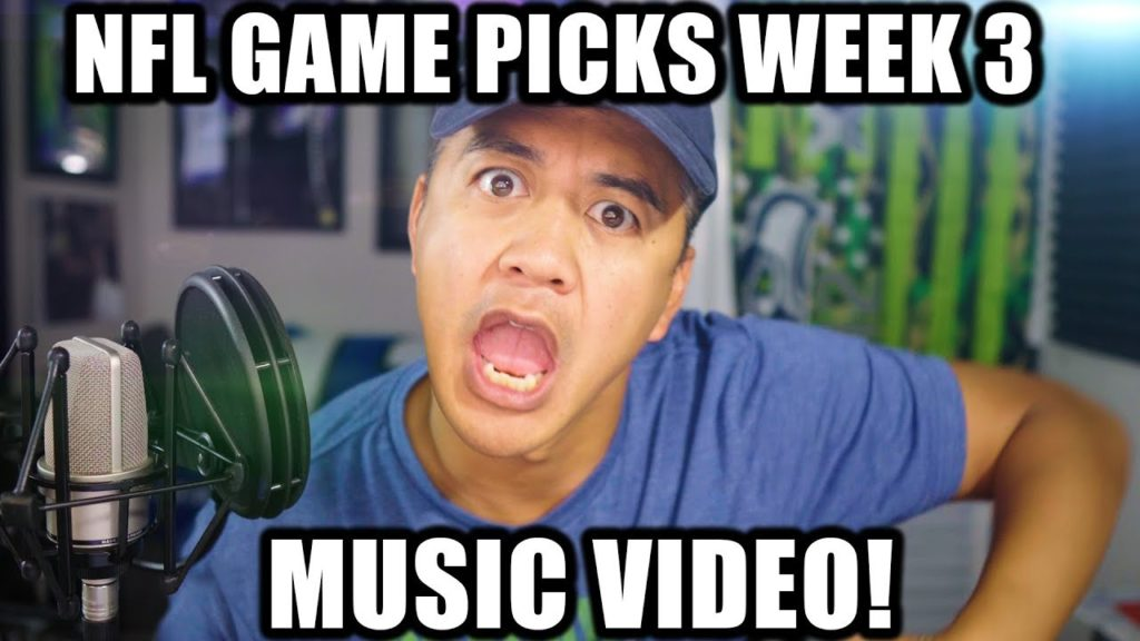 NFL Game Picks Week 3 Music Video (Ice Ice Baby by Vanilla Ice NorbCam Song Parody )