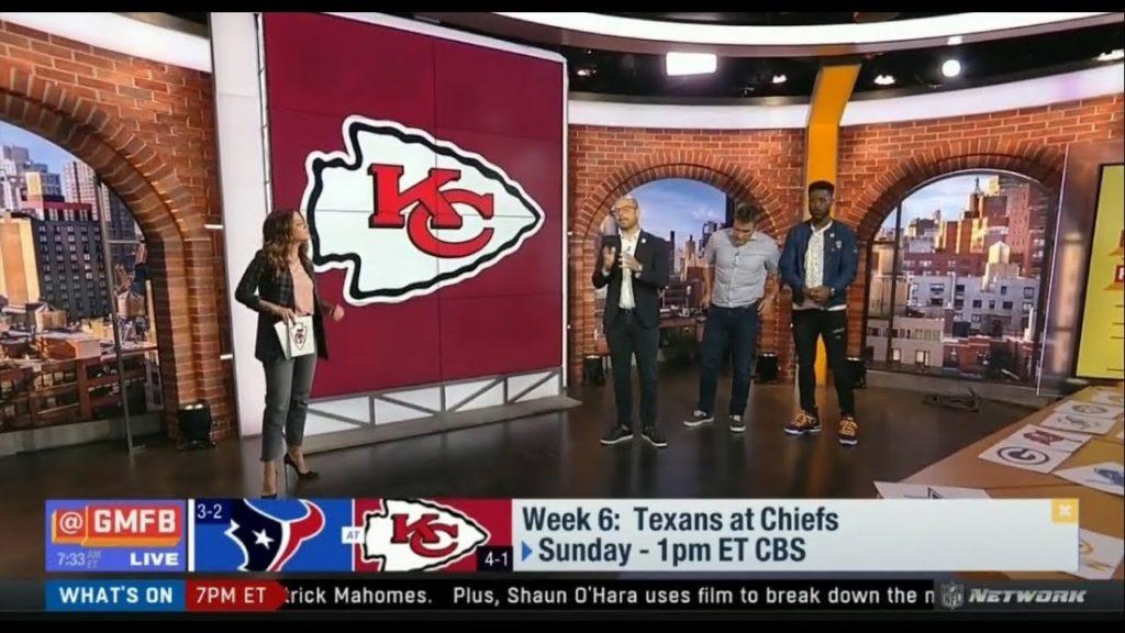 GMFB – Nate, Kyle & Mike pre-match analysis: Seahawks vs Browns, Texans vs Chiefs, Eagles vs Vikings