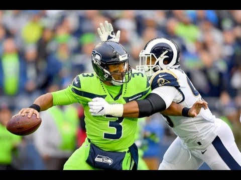 Russell Wilson Seahawks Vs Rams (CRAZY Finish)