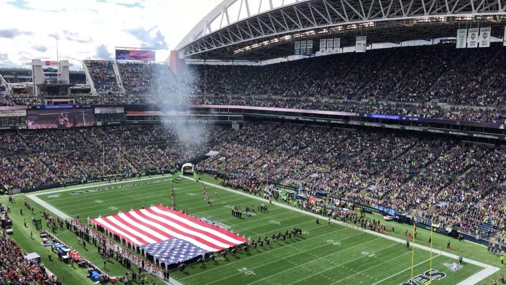 Seattle Seahawks vs Cincinnati Bengals Week 1 2019 National Anthem