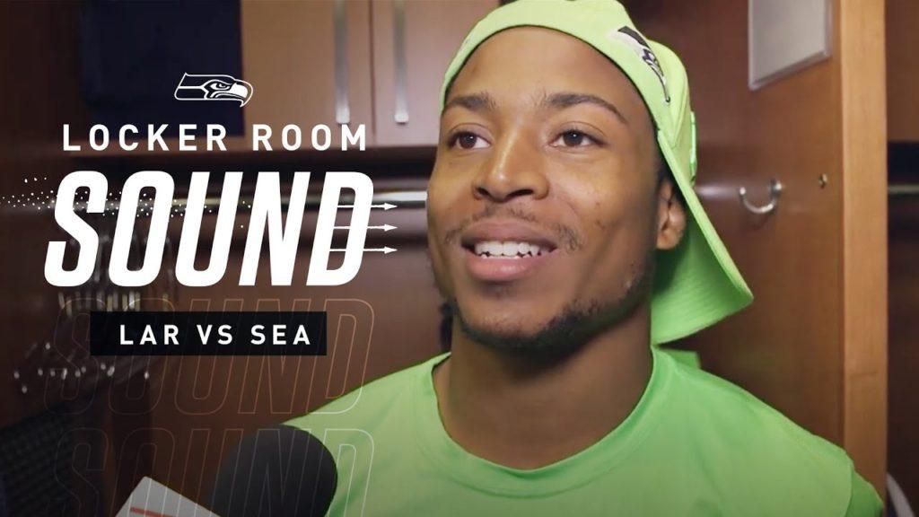 "Locker Room Sound vs Rams: Tyler Lockett Making ""Extraordinary Plays"" | 2019 Seattle Seahawks"
