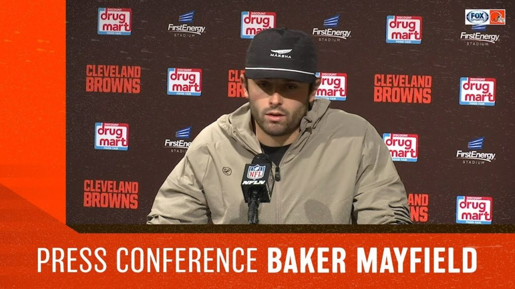 Baker Mayfield Postgame: Seahawks at Browns