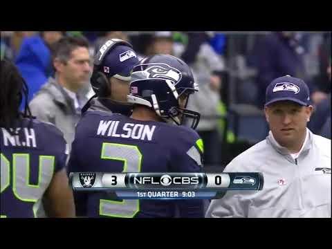 Oakland Raiders @ Seattle Seahawks (2014 NFL Season – Week 9)