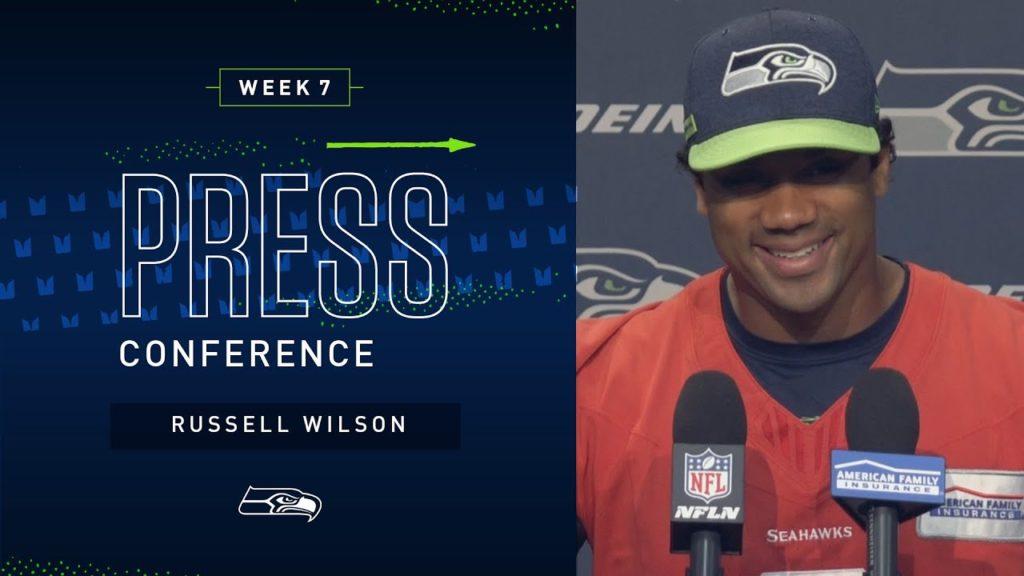 Quarterback Russell Wilson Week 7 Press Conference | 2019 Seattle Seahawks