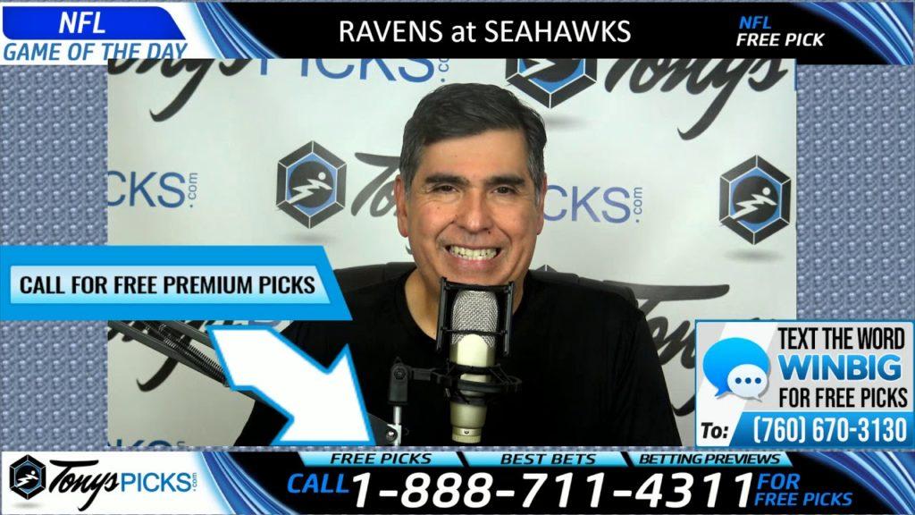 Baltimore Ravens vs. Seattle Seahawks Free Picks and Predictions 10/20/19