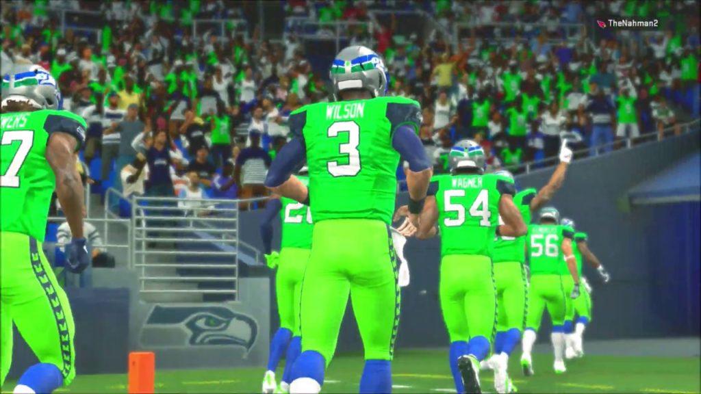 Madden 20 Color Rush Seattle Seahawks vs Arizona Cardinals Kyler Murray SEAHAWKS REBUILD Ep 29