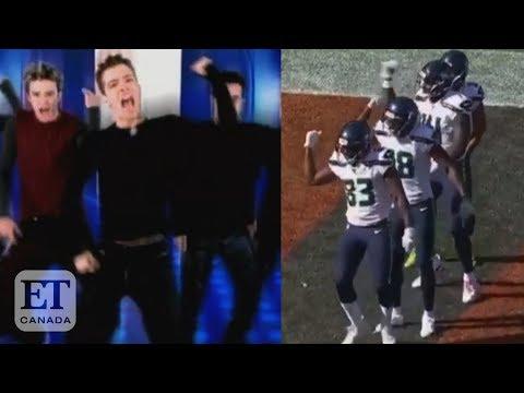 NSYNC React To Seahawks' 'Bye Bye Bye' Dance