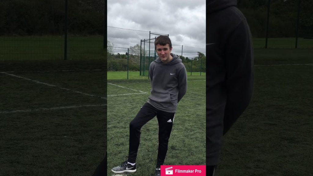 How to shoot in football / Luke Day NHC
