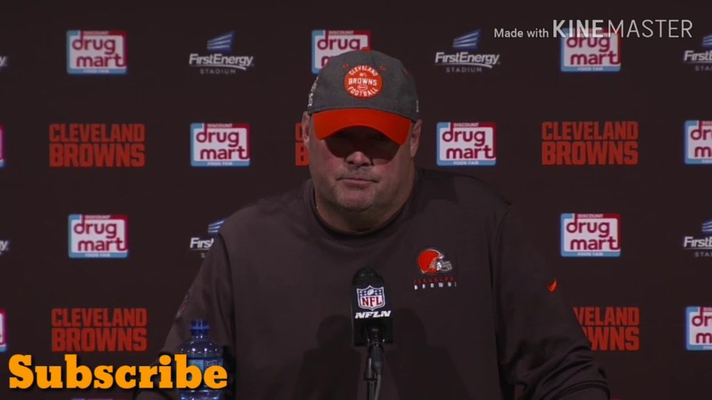 Freddie Kitchens Postgame Press Conference | Seattle Seahawks vs Cleveland Browns