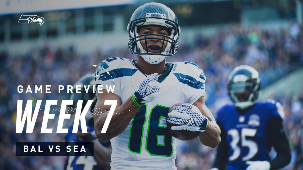 2019 Week 7: Seahawks vs Ravens Preview