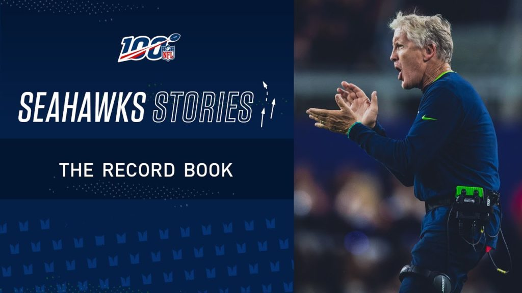 The Record Book | Seahawks Stories