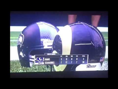 Madden 17 : Los Angeles Rams vs Seattle Seahawks 2016 Week 7
