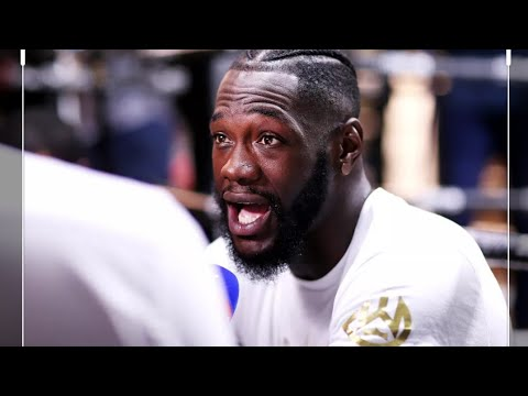 Deontay Wilder tells Brandon Marshall to stick to playing football