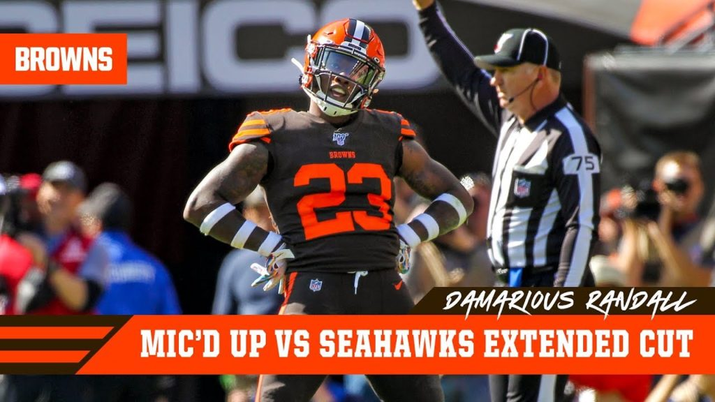 Damarious Randall Mic'd Up Week 6 vs. Seahawks: Extended Cut | Cleveland Browns