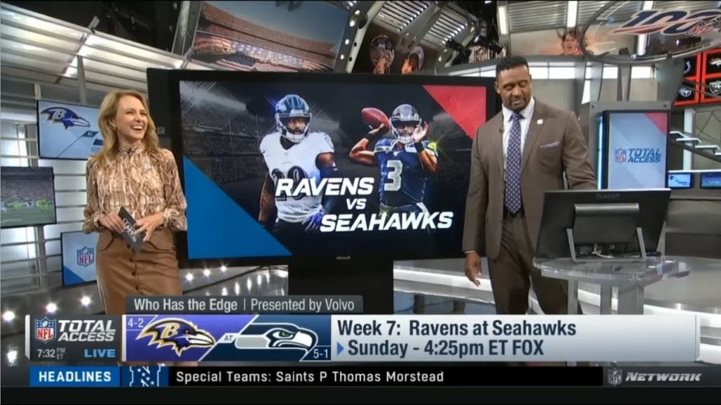 Willie McGinest: Seahawks offense vs Ravens Week 7 Who has the edge? | NFL Total Access