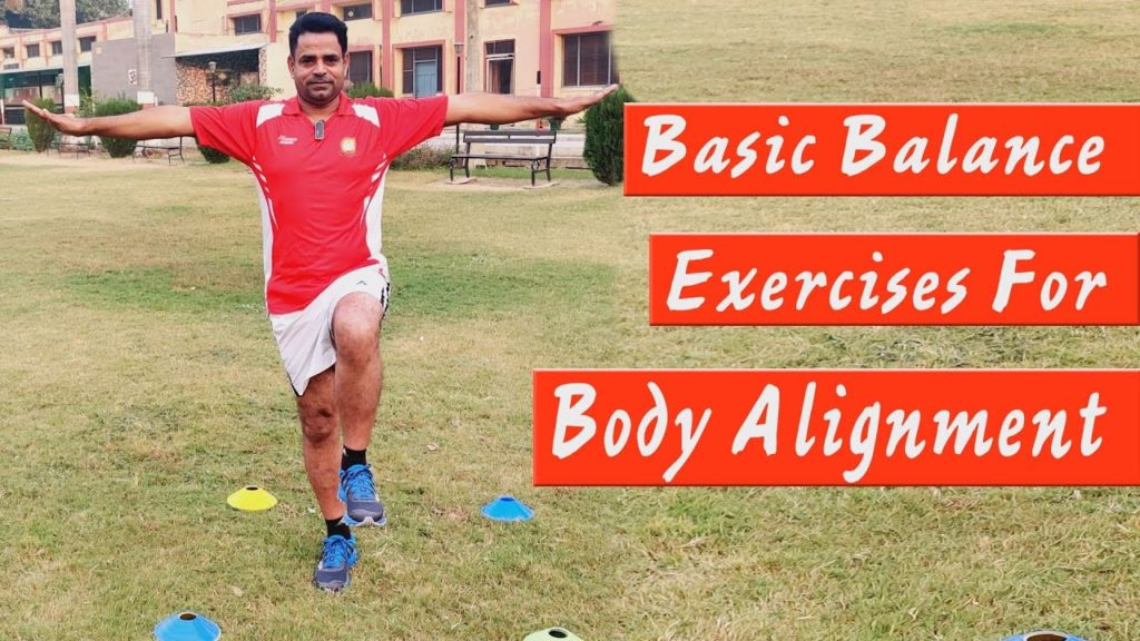Basic Balance Exercises for Alignment  ( Dr. Parvinder Bajwa, PhD, NIS, All India Gold Medalist )