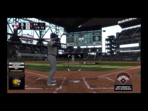 MLB The show 19 San Diego Padres Vs Seattle Mariners game 5
