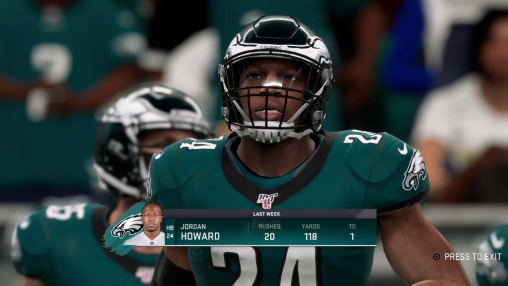 Madden NFL 20 Franchise Mode Week 12 Game 175 (Seattle Seahawks (4-6) vs Philadelphia Eagles (8-2)