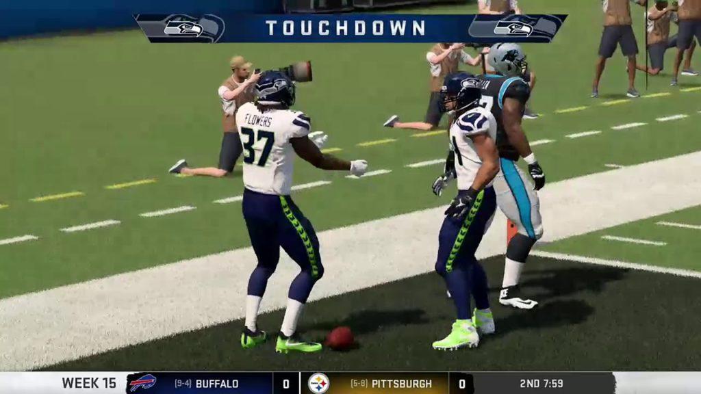 W2FL 2019 Season Week 15 – Seattle Seahawks @ Carolina Panthers