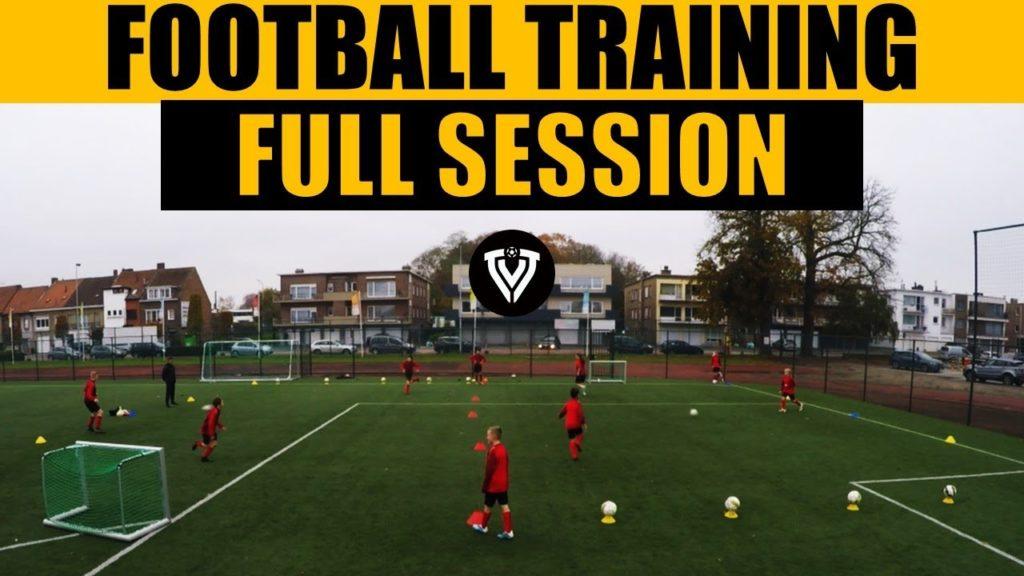 Football Training   Full Session   U11 – U12 – U13 – U14   Thomas Vlaminck