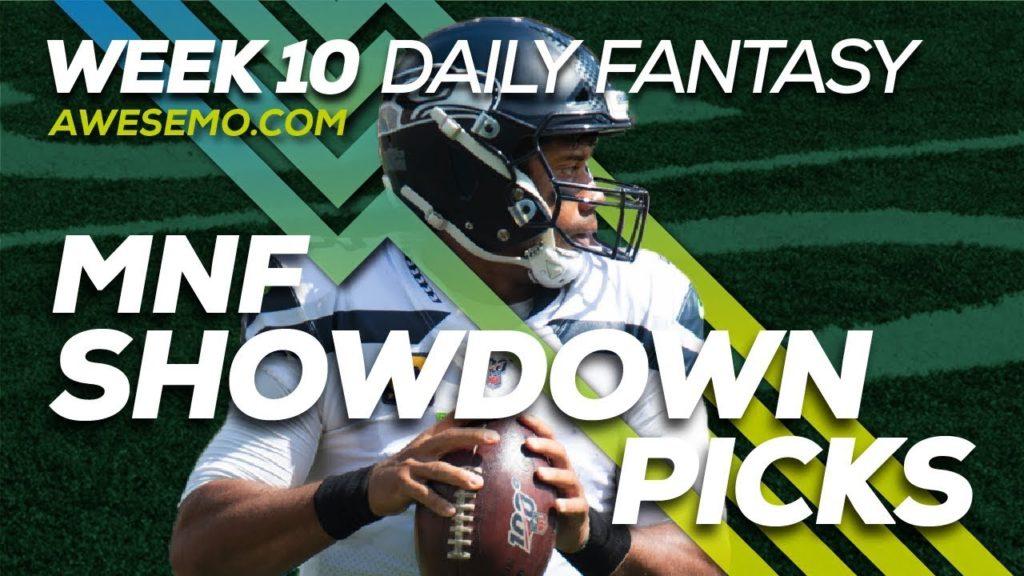 NFL DFS Live Before Lock – Niners vs. Seahawks – Awesemo.com