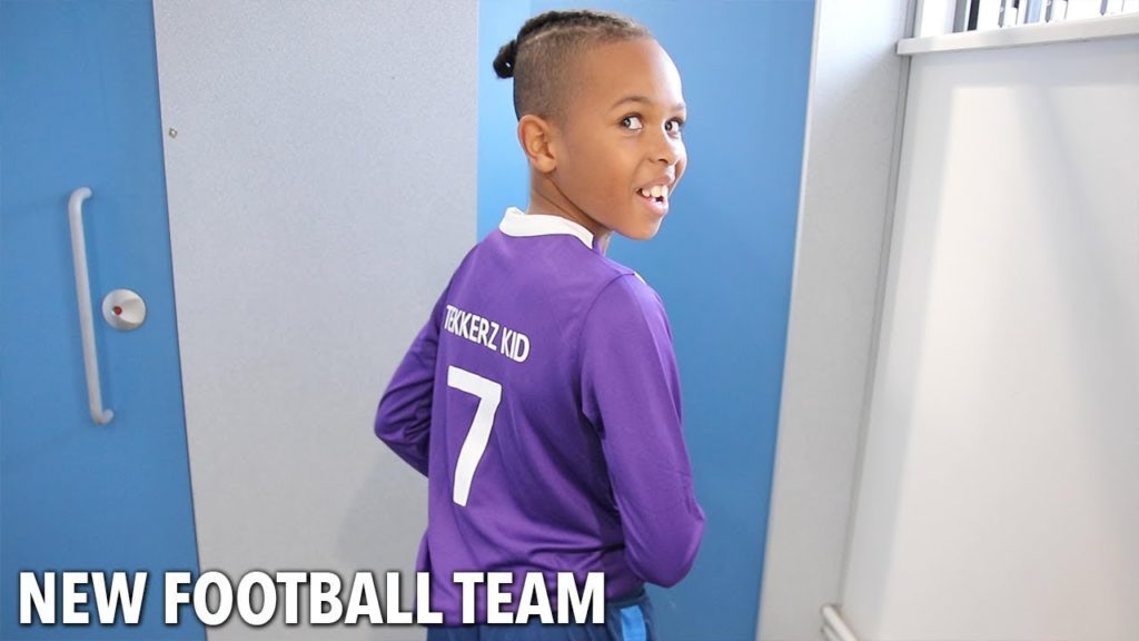 TEKKERZ KID'S NEW FOOTBALL TEAM!