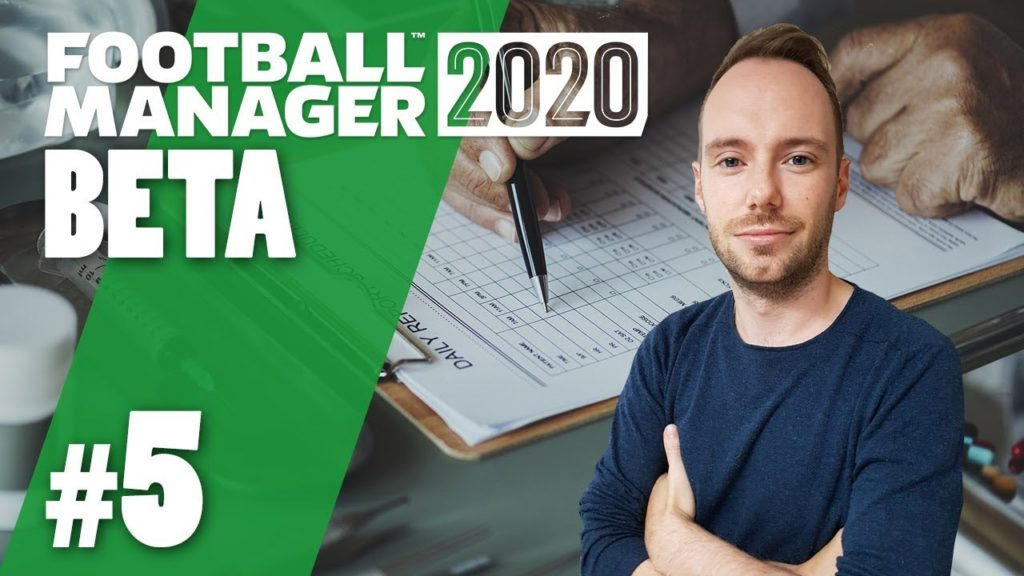 Let's Play Football Manager 2020 Beta | #5 – Letzter Part des Beta-Let's Play