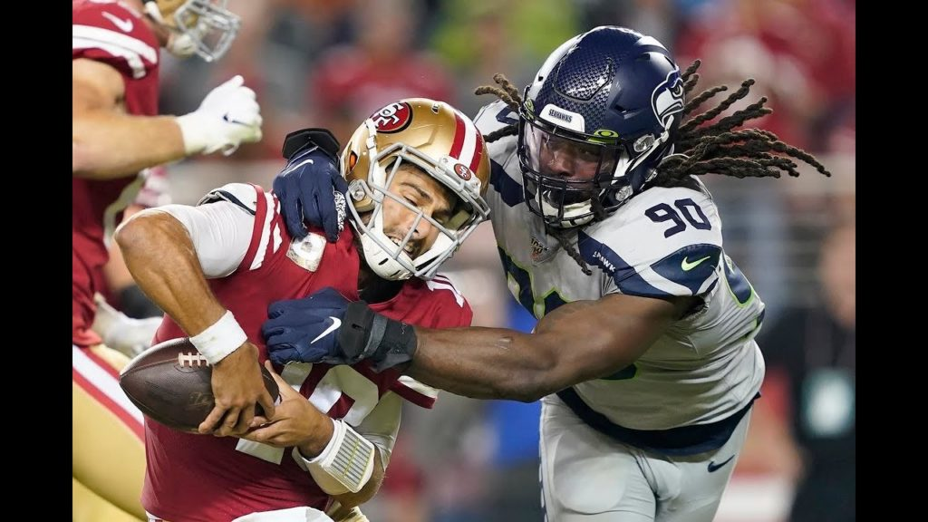 What Jadeveon Clowney says was the difference for him, Seahawks' pass rush in huge win at 49ers