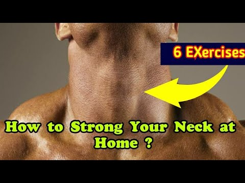 How to Strong Your Neck at Home | 6 Exercises to strong your Neck Muscles at Home | without Equipmt