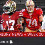 49ers vs. Seahawks: Week 10 Grades Feat. Jimmy Garoppolo + Injury News On Emmanuel Sanders & Others