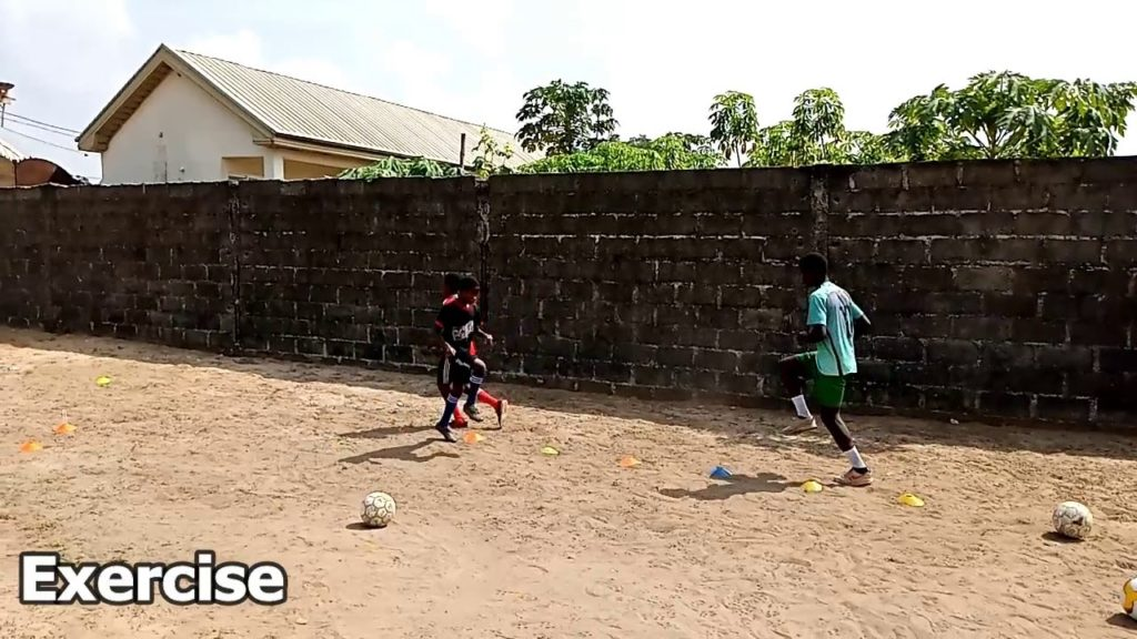 Soccer Exercises To Improve Fitness [B]