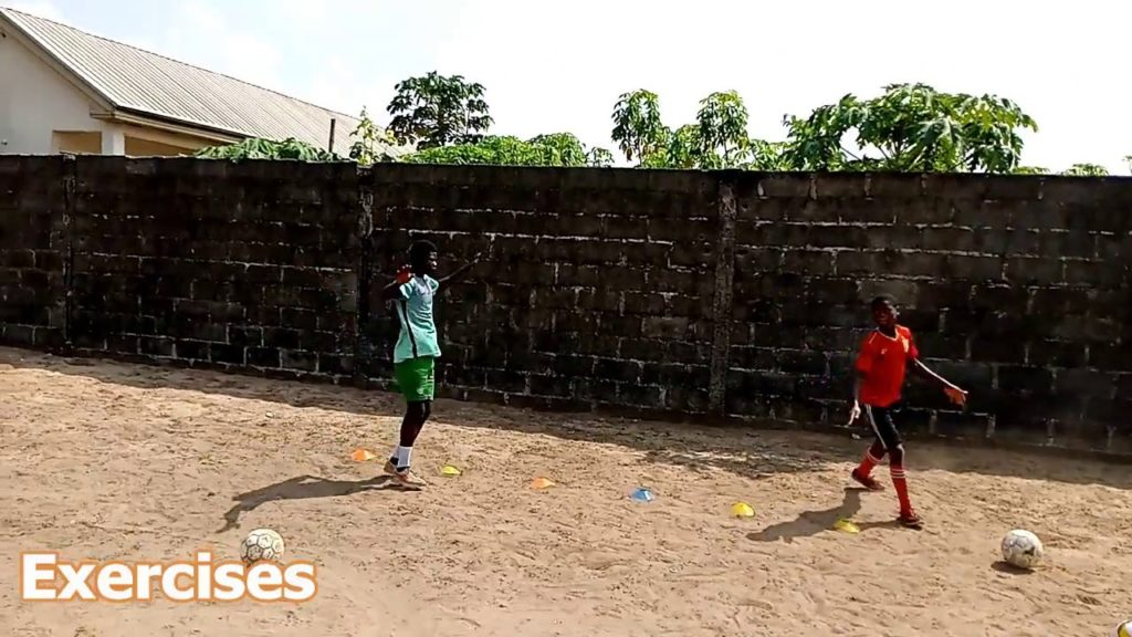 Soccer Exercises To Improve Fitness [B] – Trailer