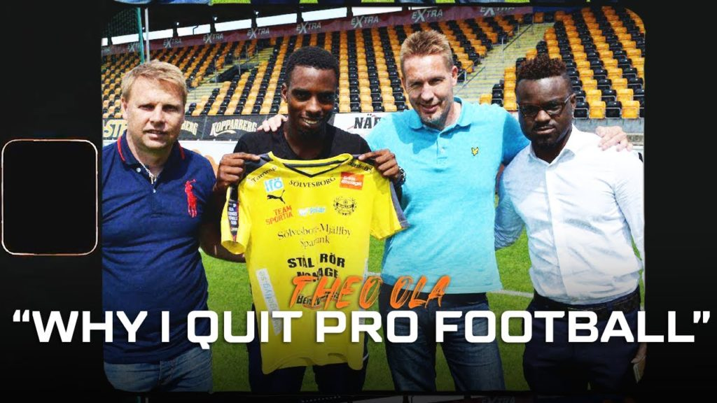 Insights | Theo Ola | Why I stopped playing Football