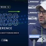 Offensive Coordinator Brian Schottenheimer Week 12 Press Conference | 2019 Seattle Seahawks