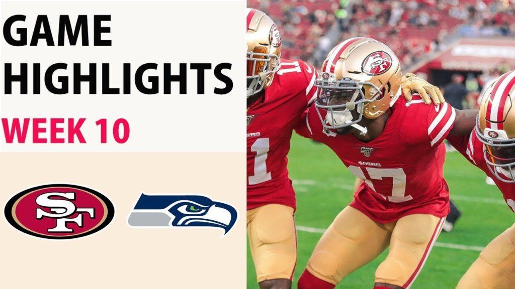 49ers vs Seahawks Highlights Week 10 – NFL 2019 (11/11/2019)