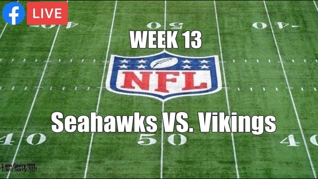 Seattle Seahawks vs Minnesota Vikings Week 13 | Live Monday Night Football