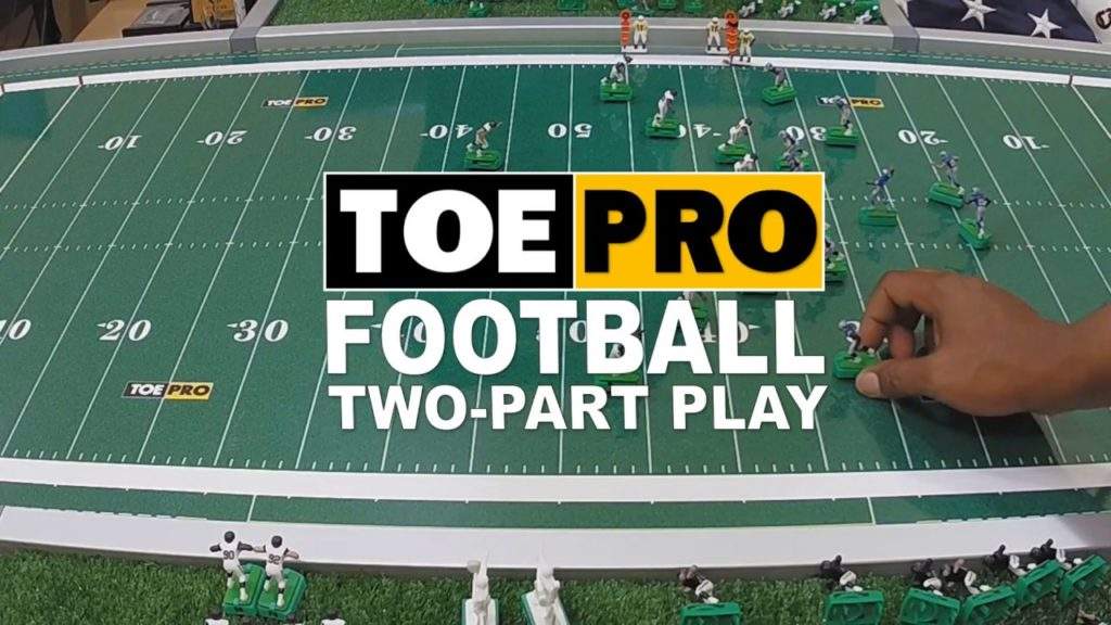 How to execute a Two Part Play in TOEPRO Football