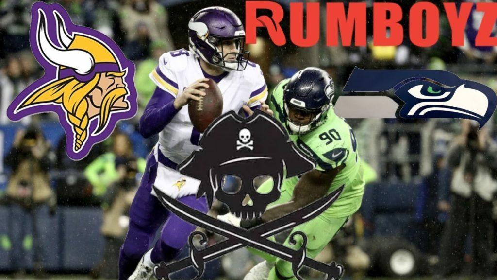 NFL Monday Night Football Minnesota Vikings vs Seattle Seahawks