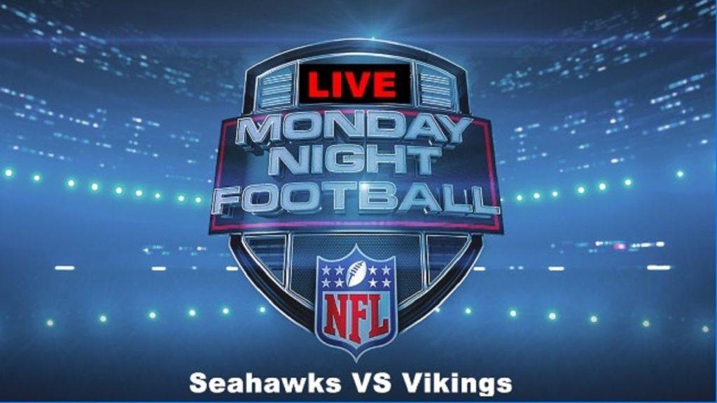 Monday night Football: Seattle Seahawks VS Minnesota Vikings (( WeeK 13 )) LIVE