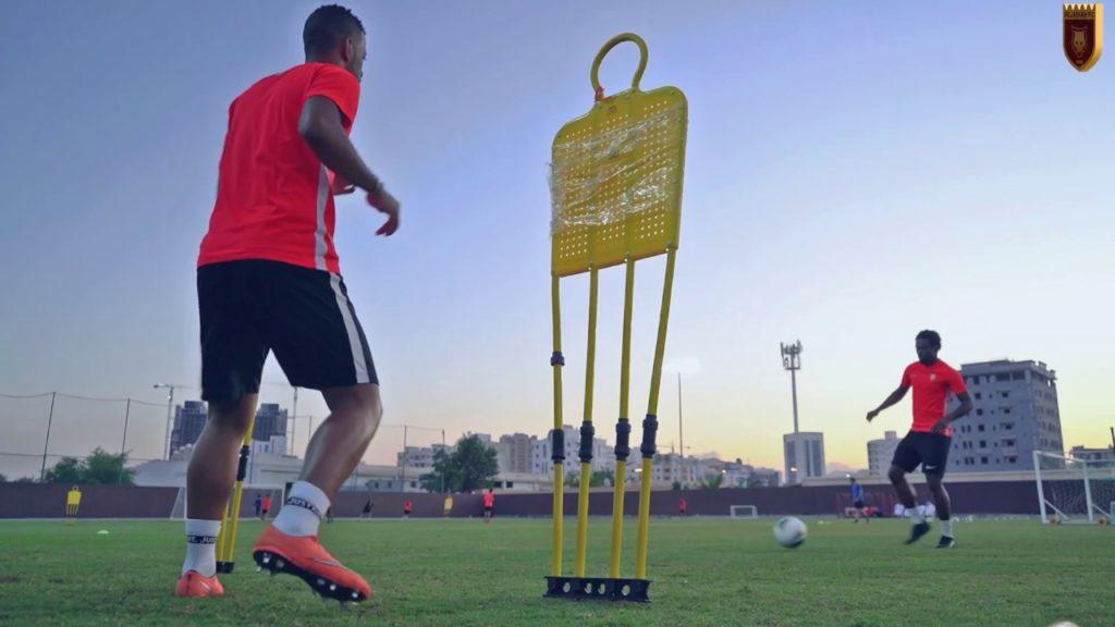 Team Exercises  #fujfc #redisthecolour #fujairah #wolves