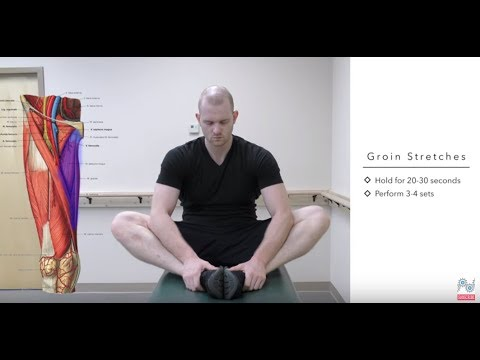 Top Treatments for a Pulled Groin – Groin Strain Exercises