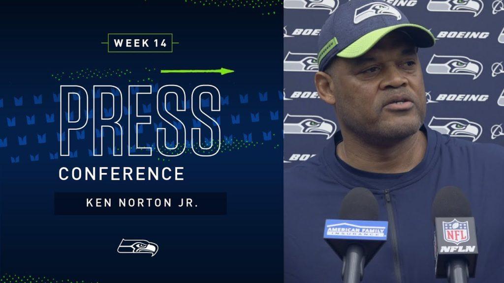 Defensive Coordinator Ken Norton Jr. Week 14 Press Conference   2019 Seattle Seahawks