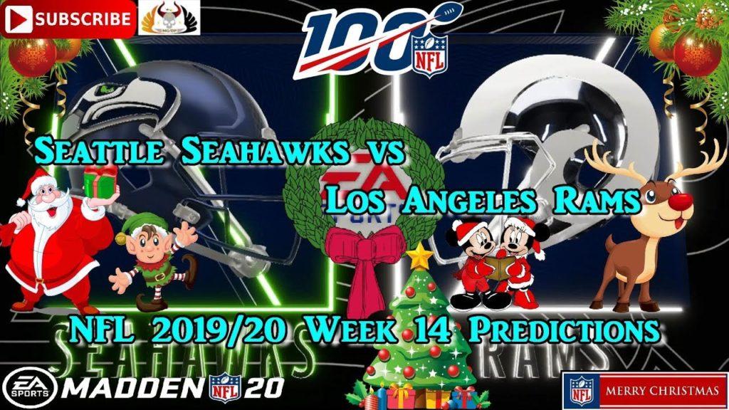 Seattle Seahawks vs. Los Angeles Rams   NFL 2019-20 Week 14   Predictions Madden NFL 20