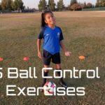 Soccer Drills 5 Control Ball Exercises