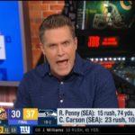 "Kyle Brandt ""backlash"": Seahawks blowout Vikings 37-30 become to legitimate Super Bowl contenders"