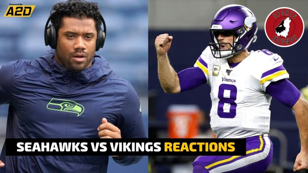 Seahawks vs Vikings MNF LIVE REACTIONS | Sports Hounds
