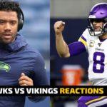 Seahawks vs Vikings MNF LIVE REACTIONS | Sports Hounds
