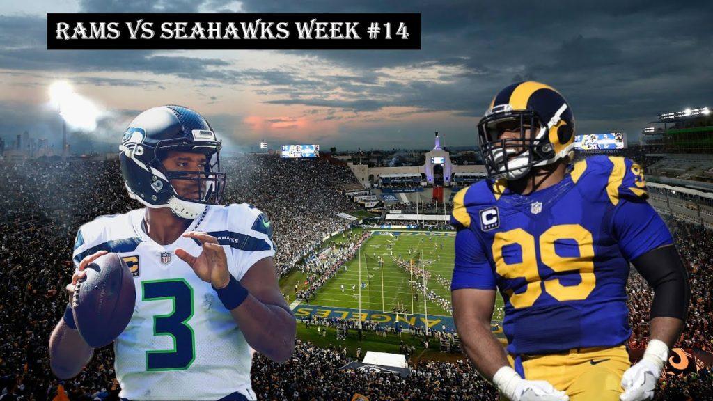 L.A. Rams Vs Seattle Seahawks | Week #14